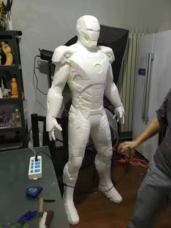 3D Printed Sculpture of Iron Man